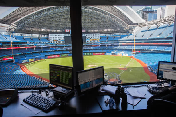 Stats keeper rogers centre Skydome