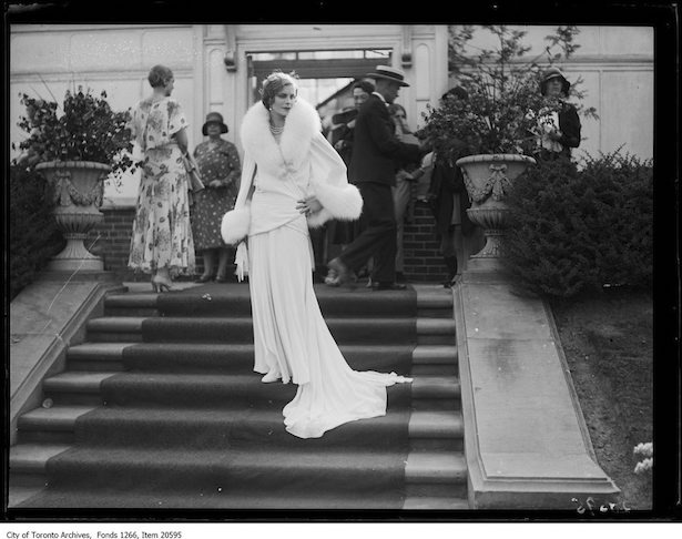1930 Eaton Garden Party fasion show… Hollywood glamour