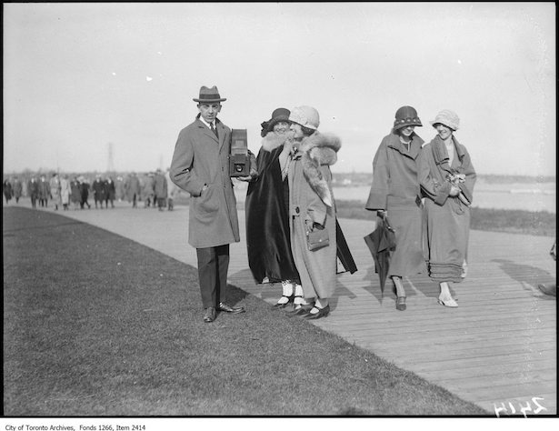 historic Toronto fashion