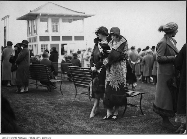 Historic Toronto Fashion 1924 Ontario Jockey Club/Woodbine races