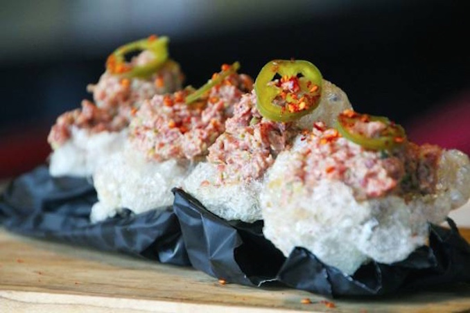 The Carbon Bar's Bourbon Steak Tartare