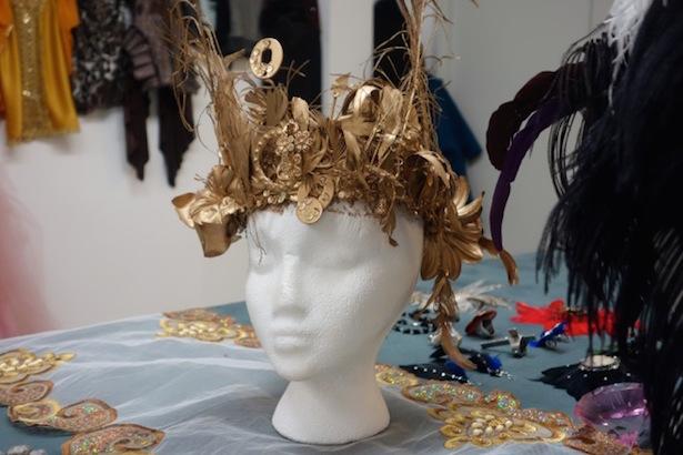 Handmade headpieces by Gavarcia