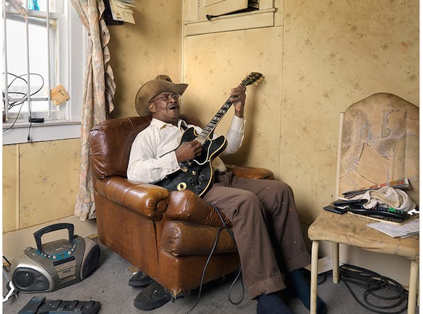 Glemie Playing the Blues, Westside, Detroit 2011