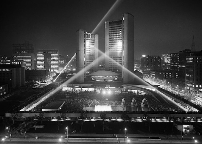 Toronto New City Hall opening