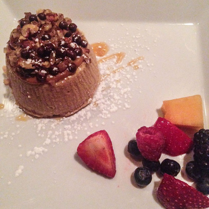 Dulce de Leche Cheesecake at Terra Italian Restaurant in Thornhill
