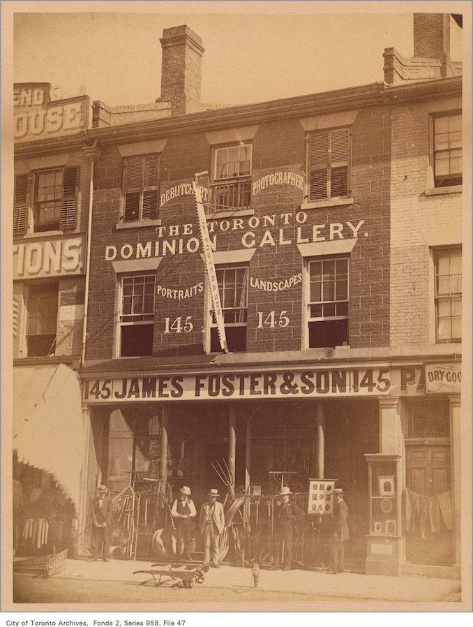 145 King Street East - 1870
