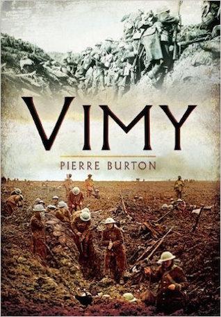 Vimy - Pierre Burton canada world war 2