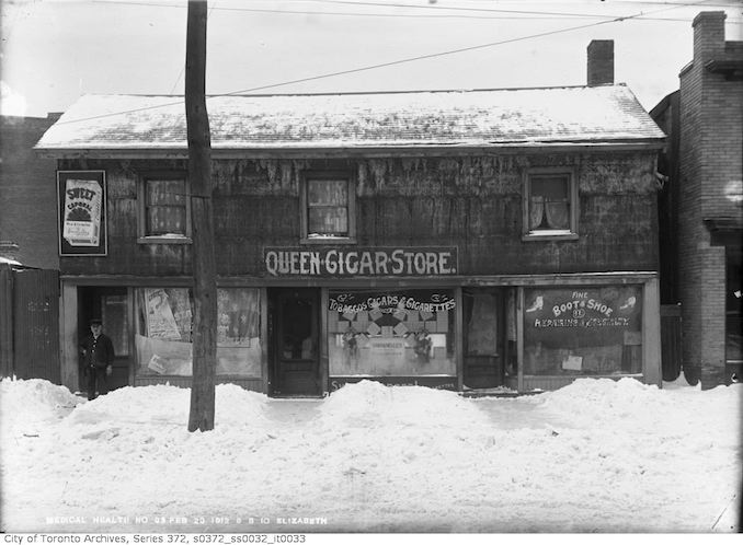 Photos Of Historic Toronto Storefronts