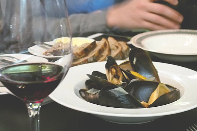 Boralia mussels