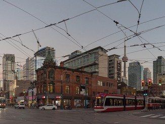queen and spadina in Toronto