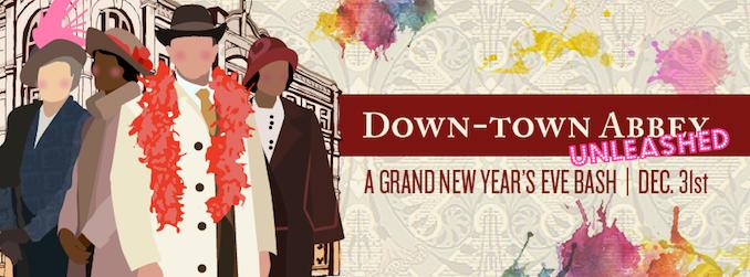 Down Town Abbey Gladstone Hotel NYE - Toronto New Year
