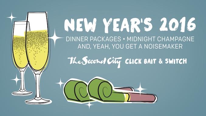 New Year's Eve Second City Toronto - Toronto New Year