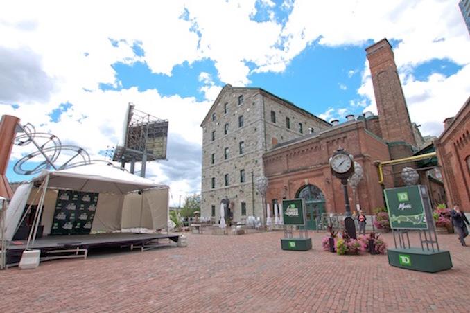 Gooderham & Worts Distillery District Jazz