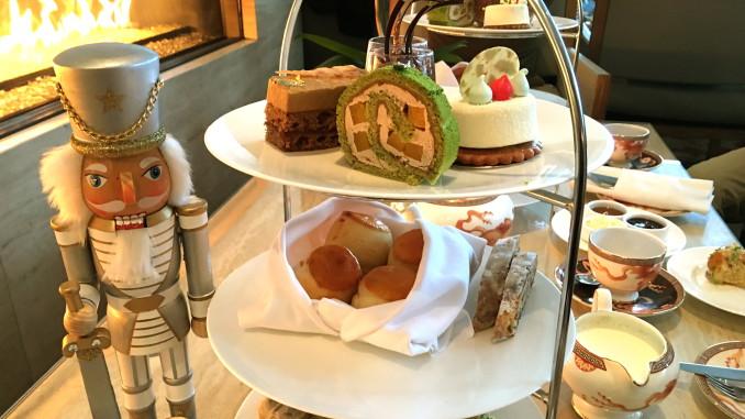 Nutcracker high tea at the shangri la hotel