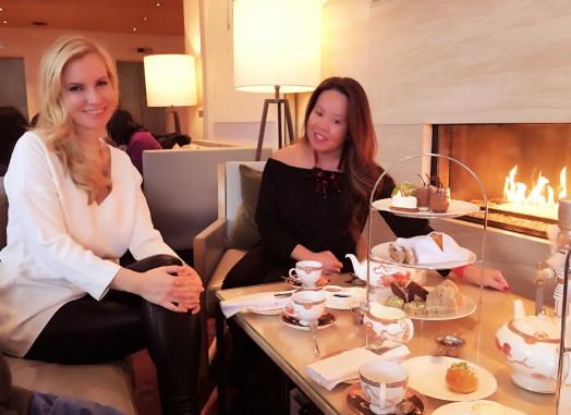 Shangri-La High Tea. Sonya Davidson