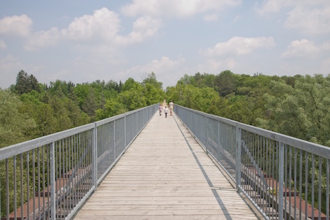 Elora and Fergus footbridge