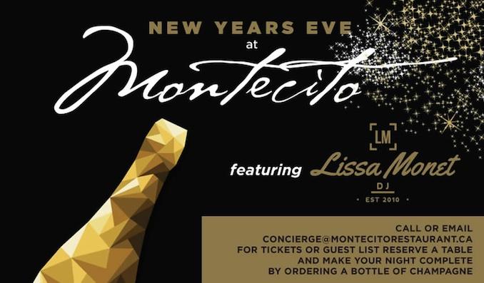 Montecito NYE - Toronto New Year
