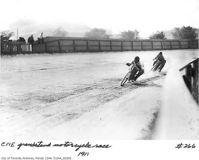 vintage motorcycling Toronto 1