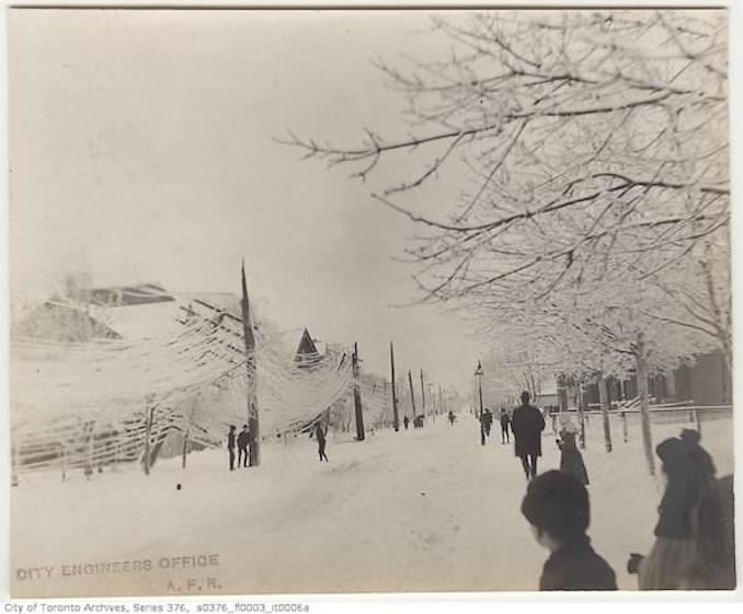 Toronto Winter Photographs