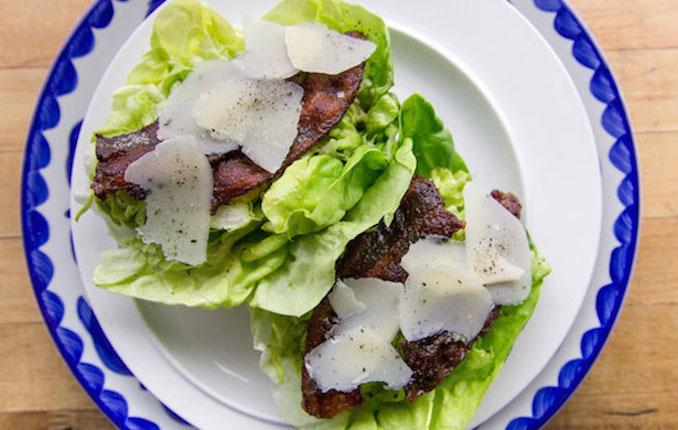 Handheld Caesar Salad Recipe