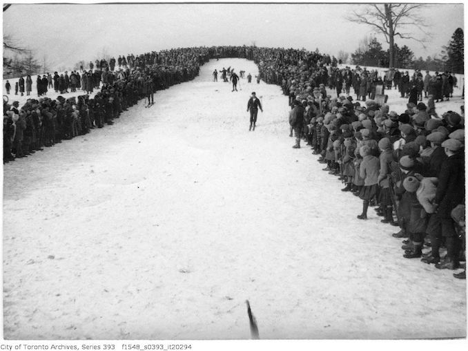 High Park - Star Carnival - ski race copy - February 13, 1926 - vintage skiing photographs