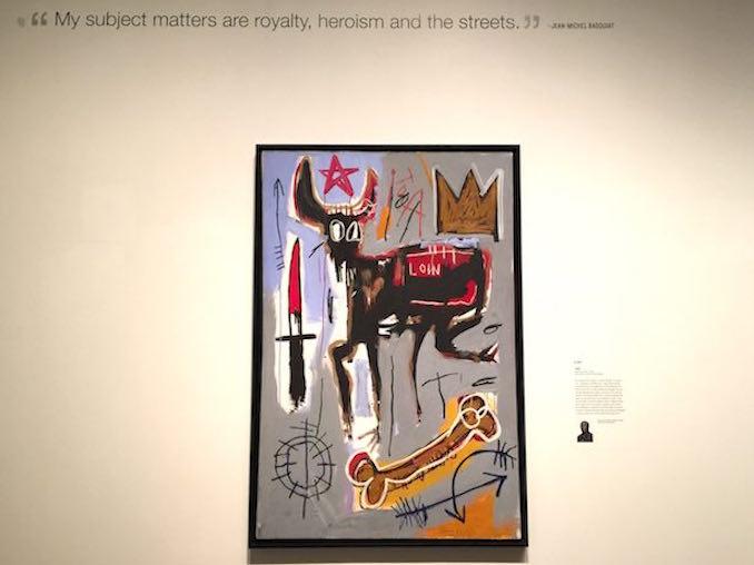 jean michel basquiat nows the time