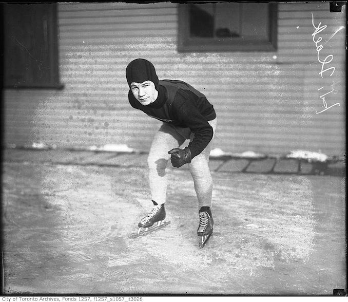 M. Flack, skater