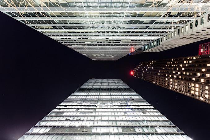 Bladerunner by Matt in downtown Toronto