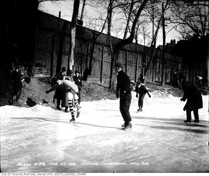 Moss Park — Skating Championships