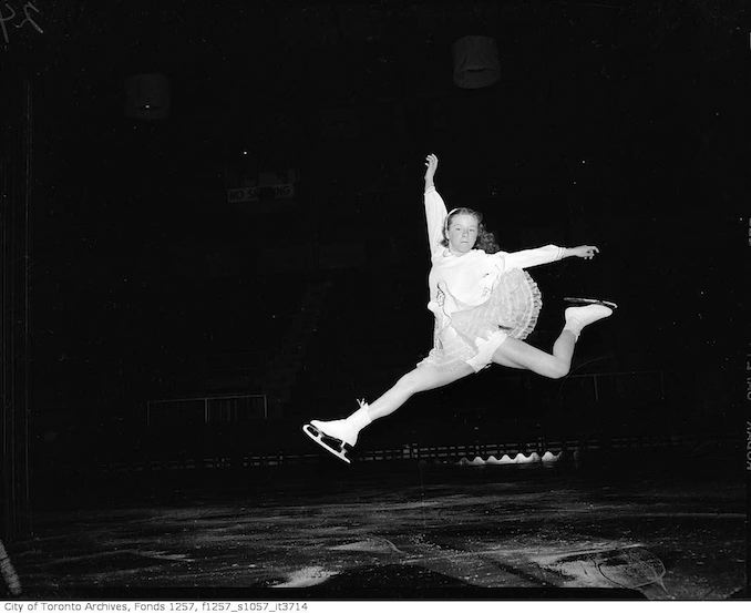 Rehearsals for Audrey Miller's Ice Skating Show, Varsity Arena copy 3