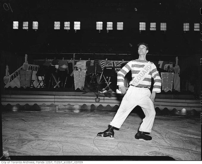 Rehearsals for Audrey Miller's Ice Skating Show, Varsity Arena copy