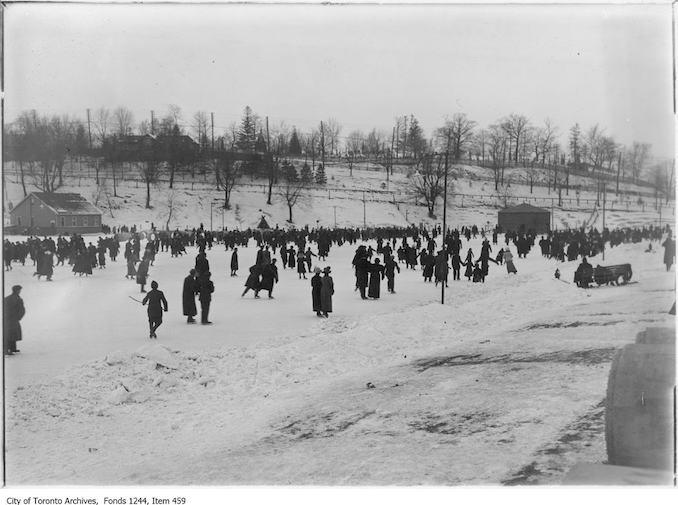 Riverdale Park free skating rink. - [1912?]