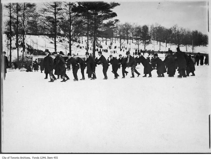 Skaters in High Park. - [ca. 1910]