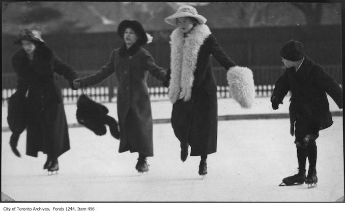 Skating at Varsity Rink. - [1912?]
