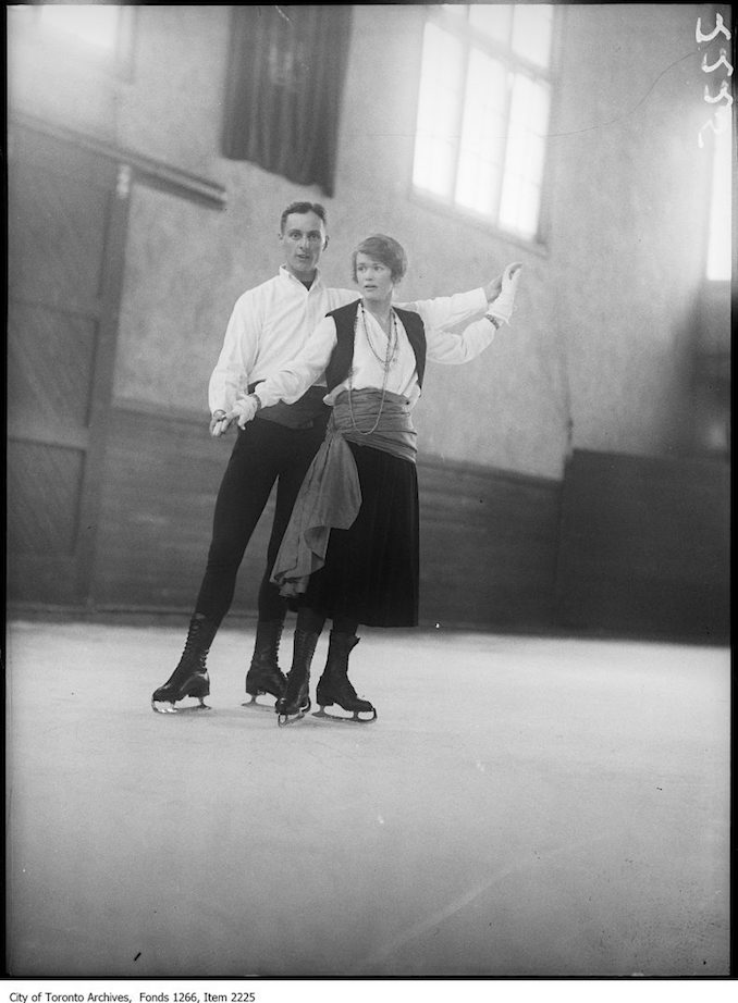 Skating carnival, George Machado & Miss Elizabeth Blair. - March 20, 1924