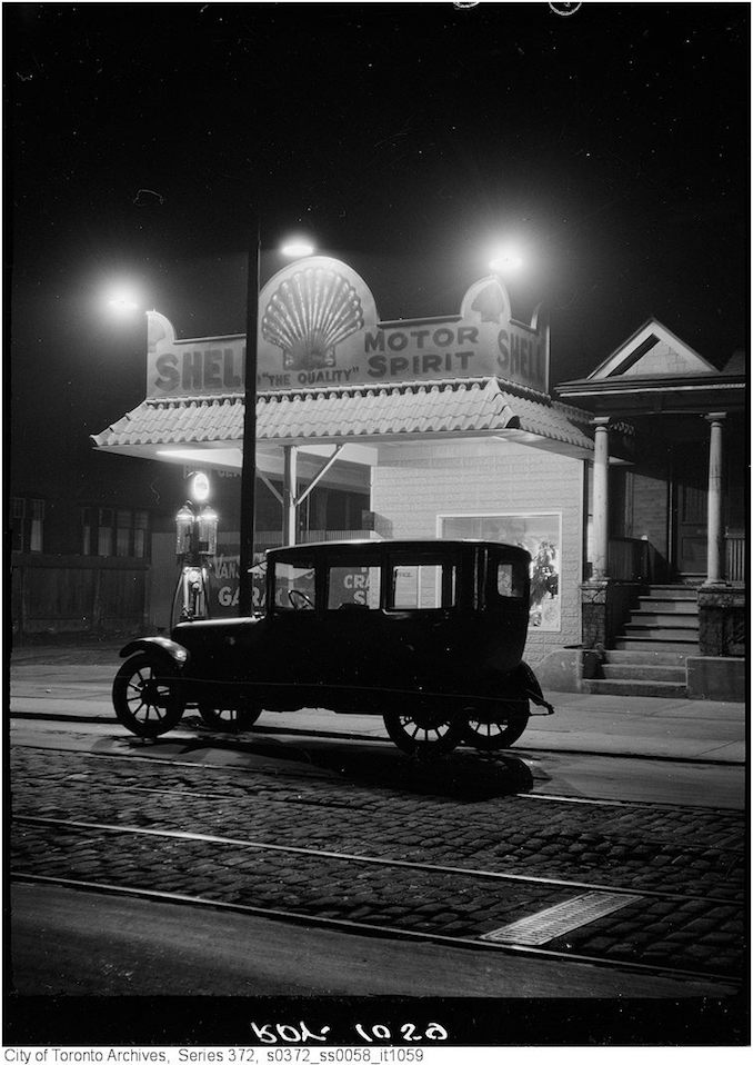 376 Vintage Automobile Photographs on Dupont Street - Oct 31 1923