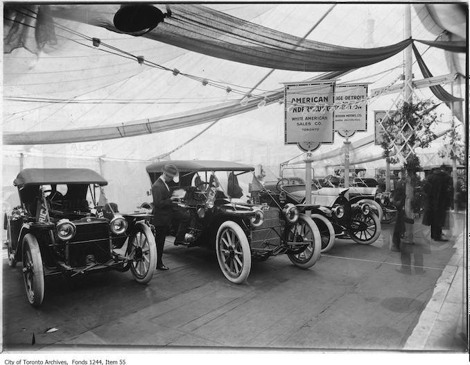 Auto show, Armouries. - 1912