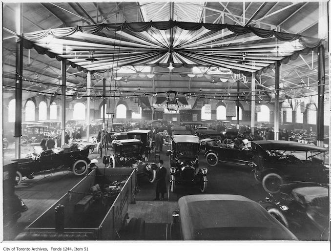 Auto show, Armouries. - 1913