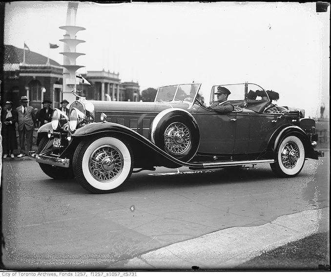 Automobile at CNE 1936