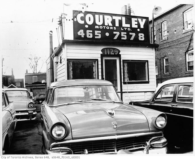 Danforth Auto Body and Courtby Motors - 1965