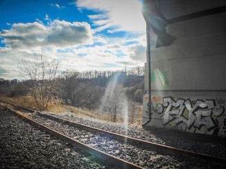 A Great Capture sent us this photo from under a bridge on the railway tracks. To see more of his images from around Toronto, visit his Flickr page