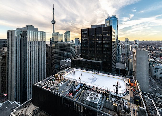 Rink on the roof toronto