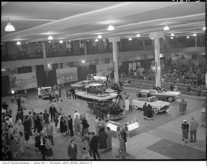Ford exhibit Monte Carlo carnival - june 7 1957