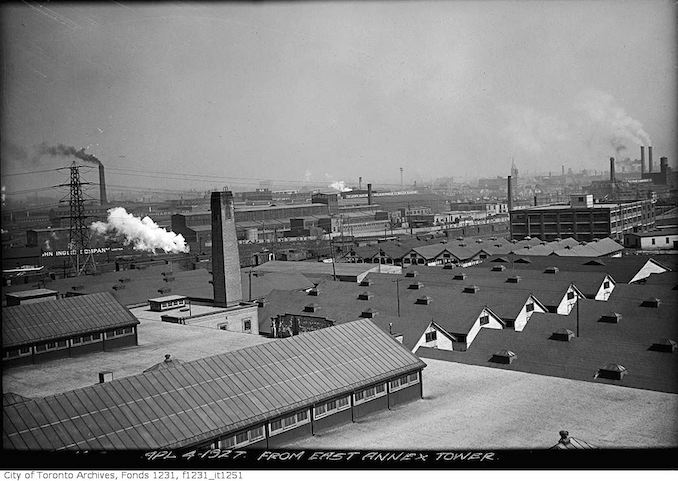 From east annex tower, C.N.E 1927