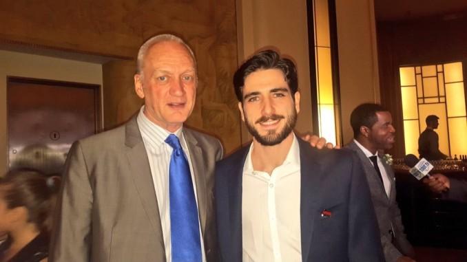 Nigel Bennett with Joel Levy