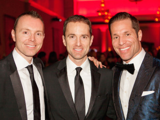Mark, Sean and Paul Etherington at the 2015 gala.