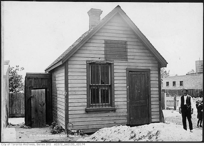 Old police station, East Toronto