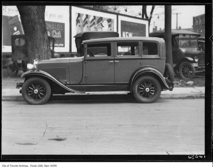 Philmac motors, Marmon 68 Sedan. - May 1, 1929