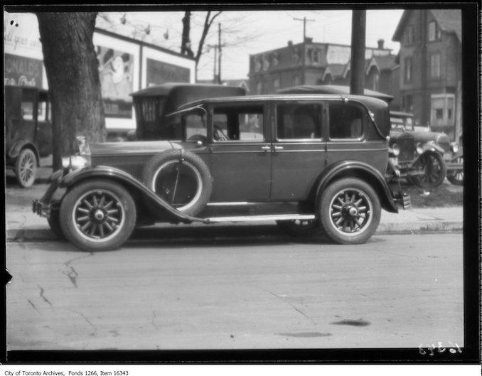 Philmac motors, McLaughlin Sedan. - May 1, 1929