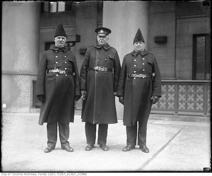 Three policeman